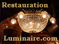 Restauration de lustres et luminaires